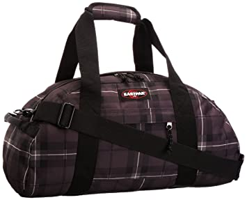 Eastpak Stand - Bolsa de viaje (25 x 53 x 24 cm), color checked black - 25 x 53 x 24 cm: Amazon.es: Equipaje