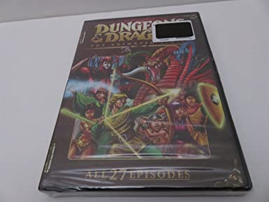 Dungeons & Dragons: Complete Animated Series Reino Unido DVD ...