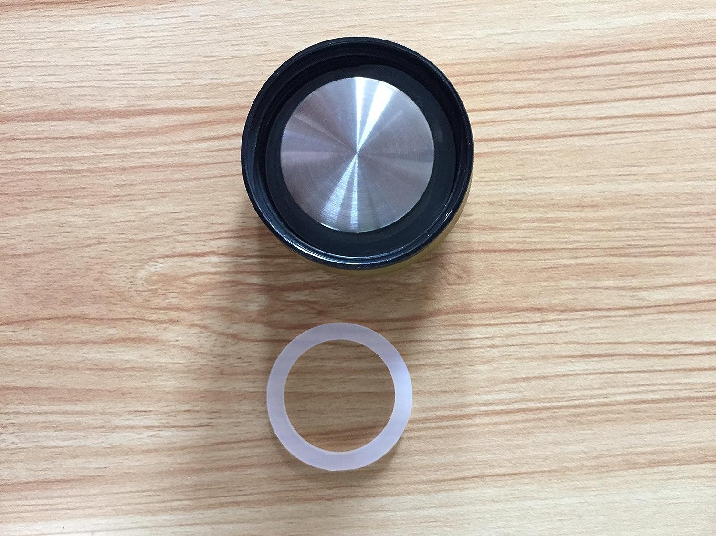 anillos de sellado herm/éticos de silicona y juntas de goma para tarros de cristal 12 juntas de silicona de repuesto
