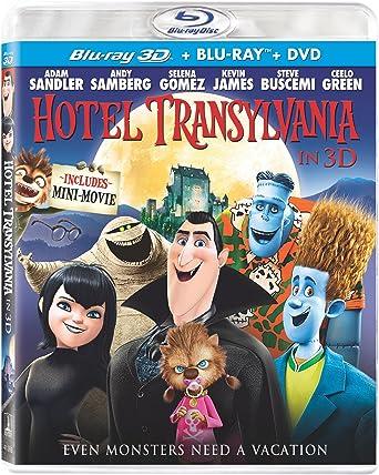 Amazon com: Hotel Transylvania (Blu-ray 3D / Blu-ray / DVD +