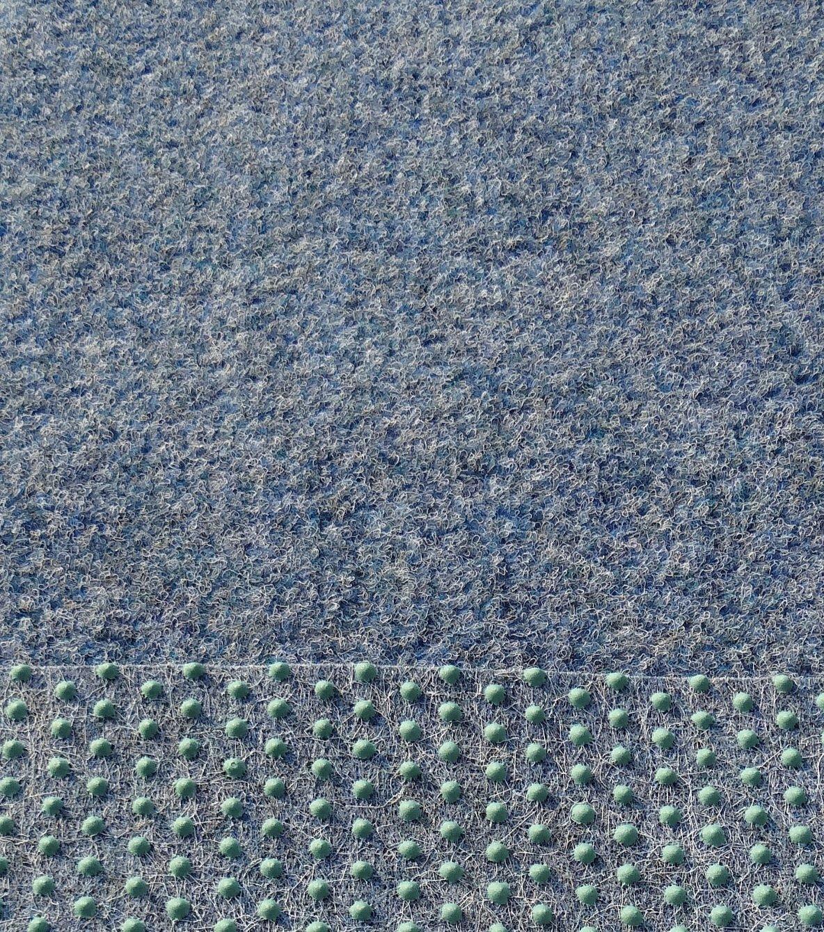 Hervorragend Kunstrasen Rasenteppich mit Noppen angenehm weich Farbe: blau  LC95