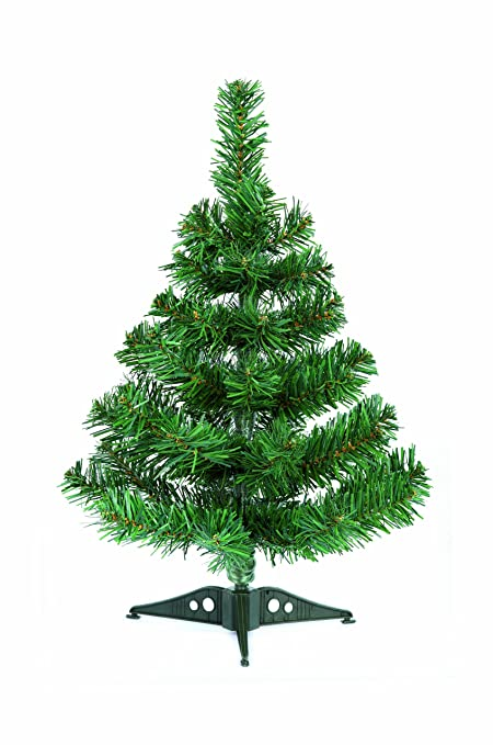 Christmas Tree.Table Top Christmas Tree With Stand 45cm By Uk Christmas World Artificial Tree