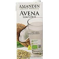 Amandin 400088 Bebida de Avena con Coco