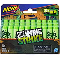 Nerf Zombie Strike - 30 Pack Genuine Darts - for use with Flipfury, Dreadbolt & Outbreaker Blasters