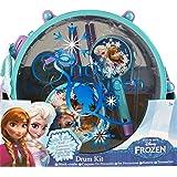Disney La Reine des Neiges Taille XL tambour et 5-Musical-Instrument de Musique-complet!