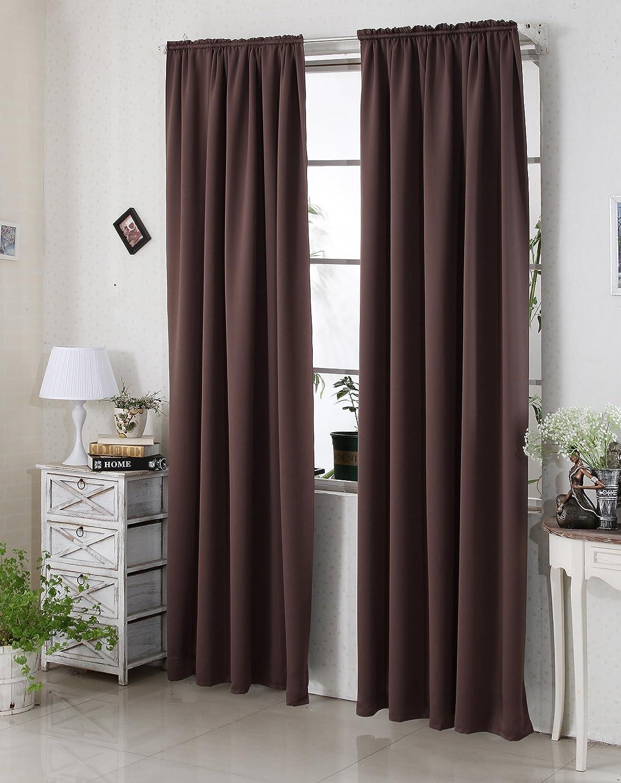 Woltu #330 gardine vorhang blickdicht , verdunkelungsvorhang ...