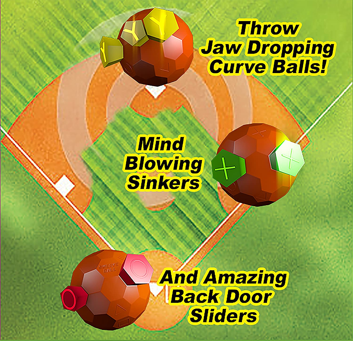 Swerve Ball - The Amazing Ball That Lets Anyone Throw Like A Pro ...