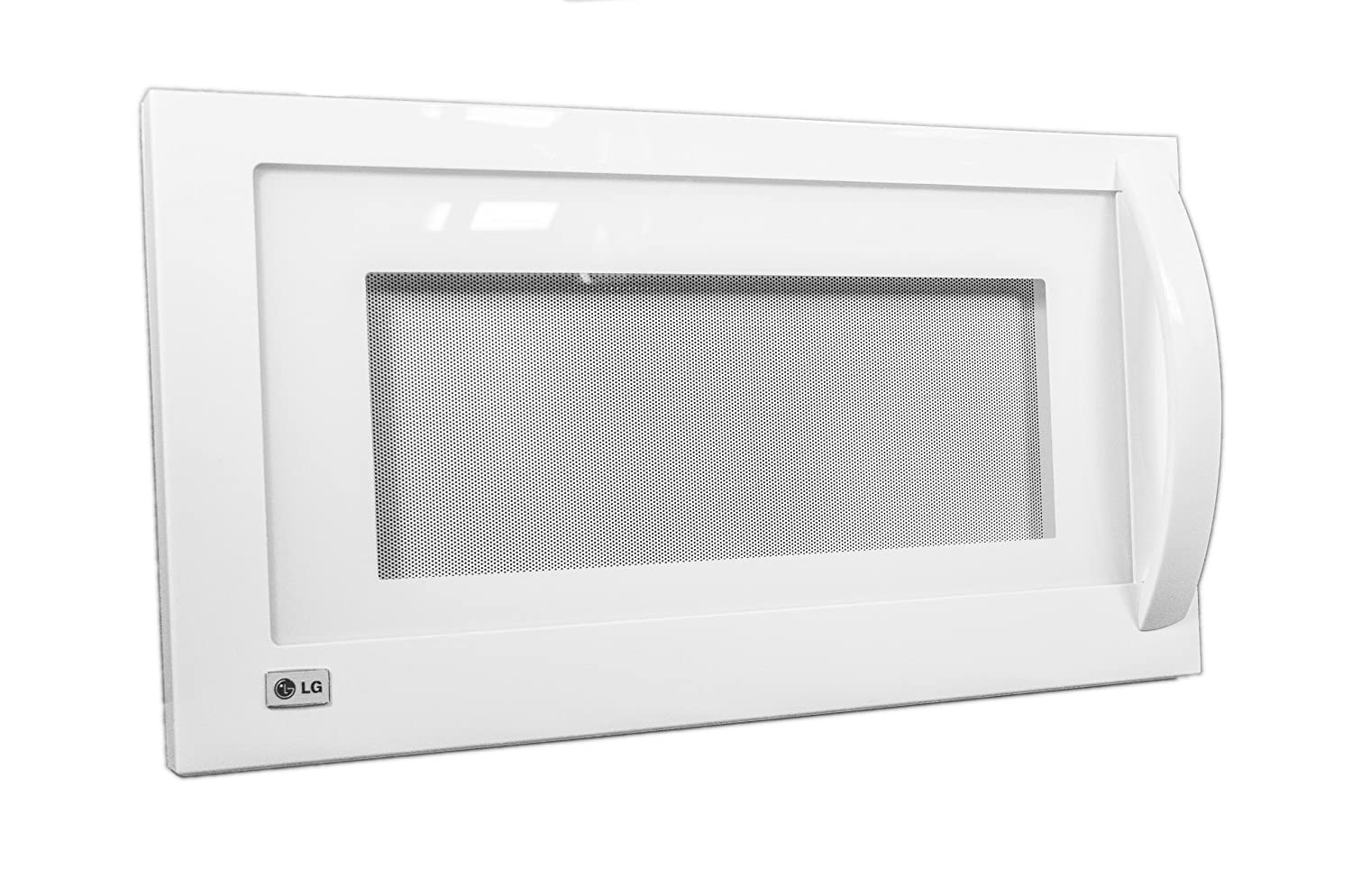 LG Electronics ADC49436904 Microwave Oven Door Assembly, White