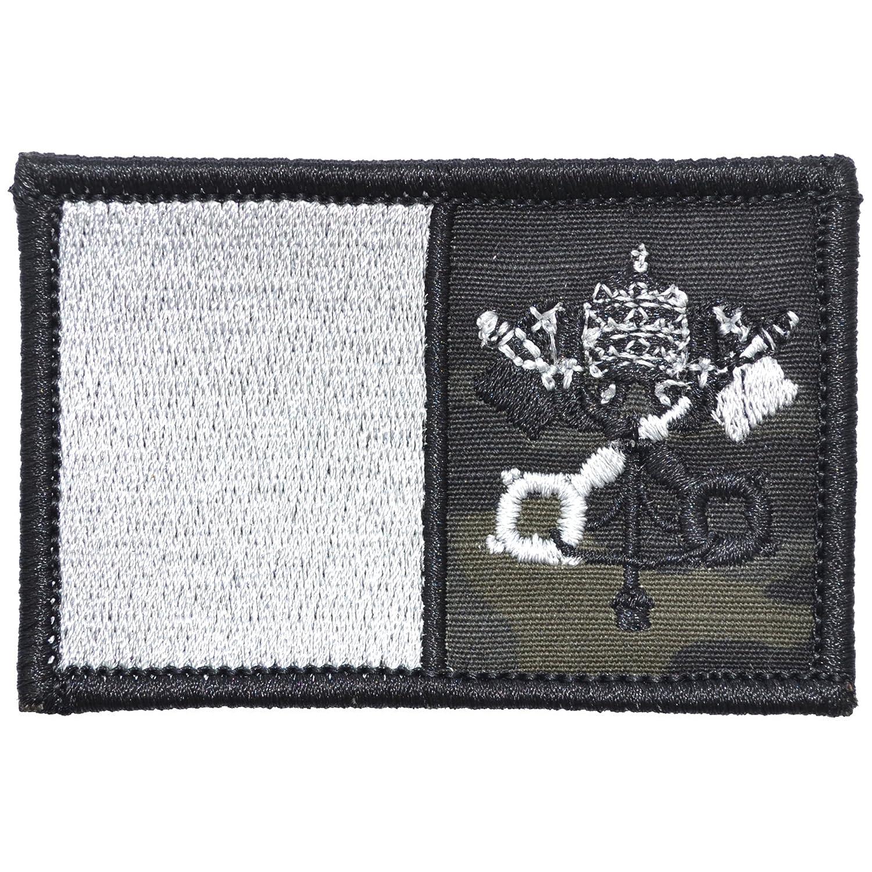 579c072d0a7 Amazon.com  Vatican Flag - 2x3 Morale Patch - Multiple Colors (Black)   Arts