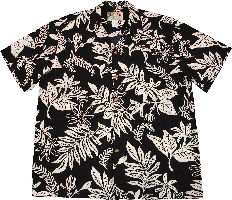 FieerMen Leisure Slim Lapel Long-Sleeve Print Oversized Top Tshirt Shirt