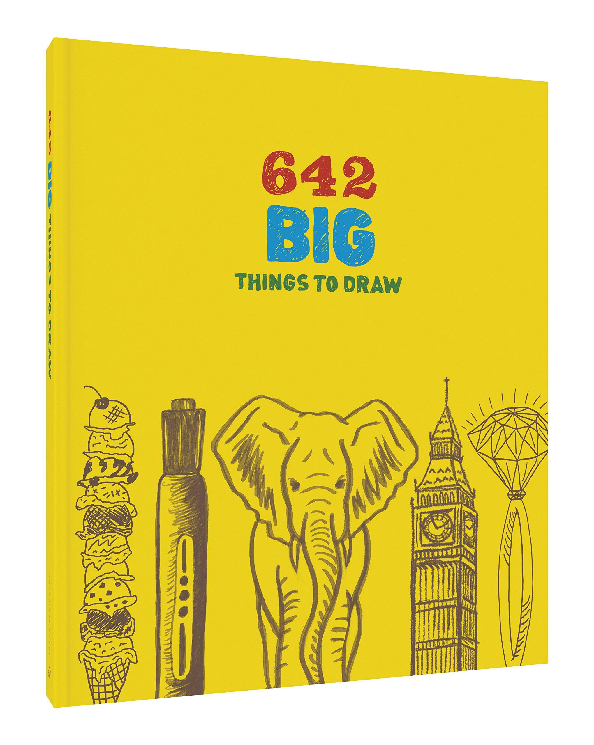 Amazon com: 642 Big Things to Draw (9781452147352