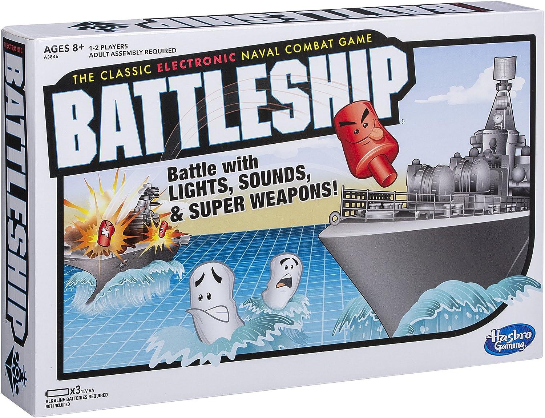Amazon Com Electronic Battleship Game Toys Games