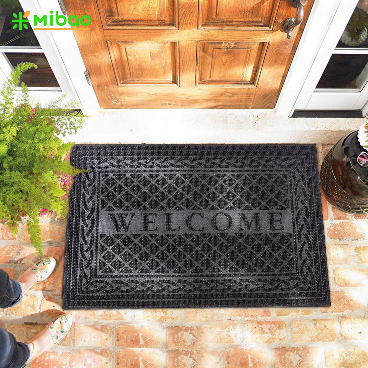 Entrance Door Mat 18 X 30 Inch Large Non Slip Welcome