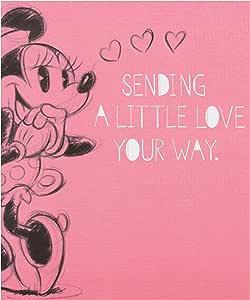 Amazon.com: Hallmark – Tarjeta de Minnie Mouse de Disney ...