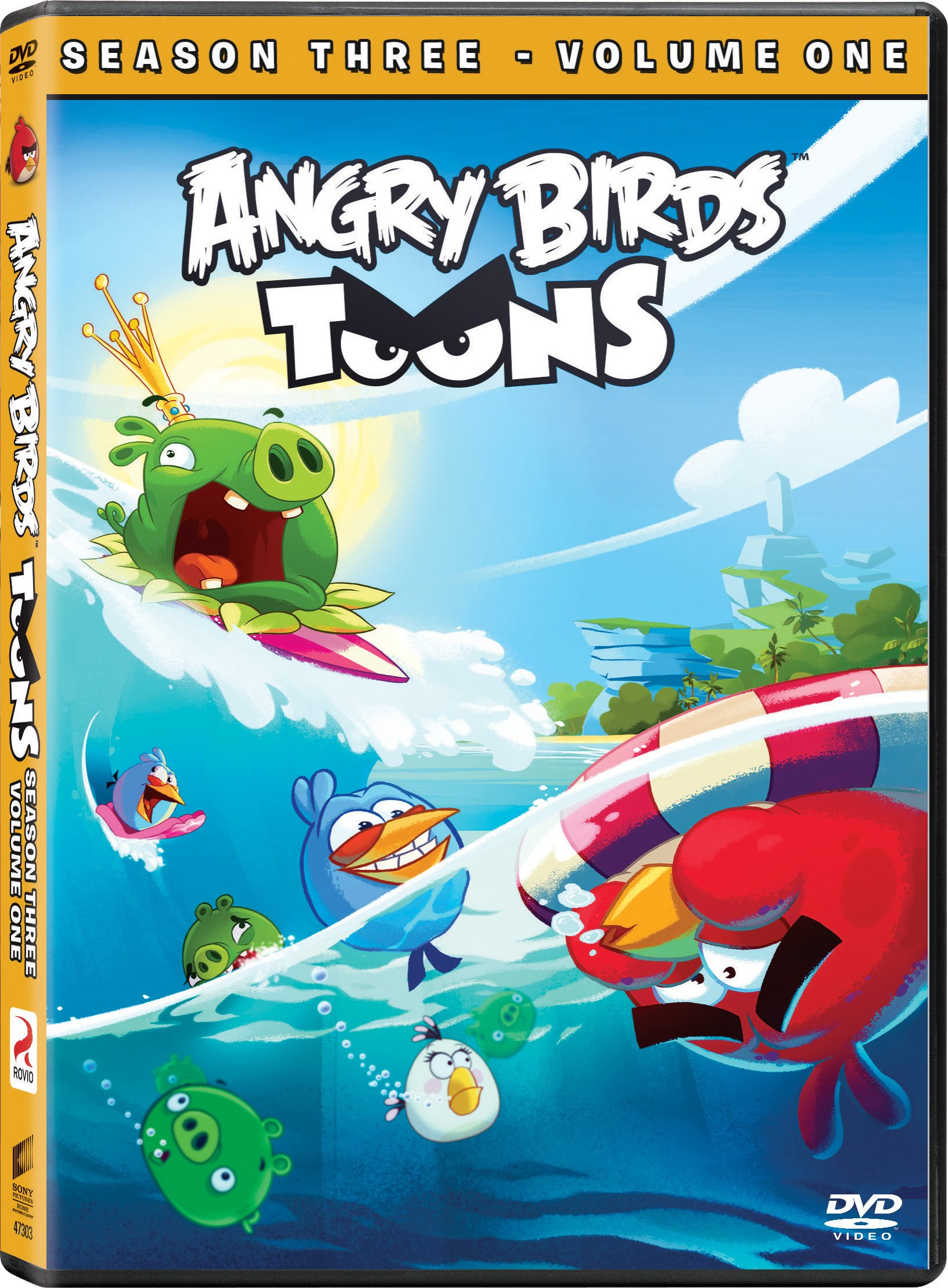 DVD : Angry Birds Toons: Season 3 Volume 1 (AC-3, Widescreen, Subtitled, Dolby)