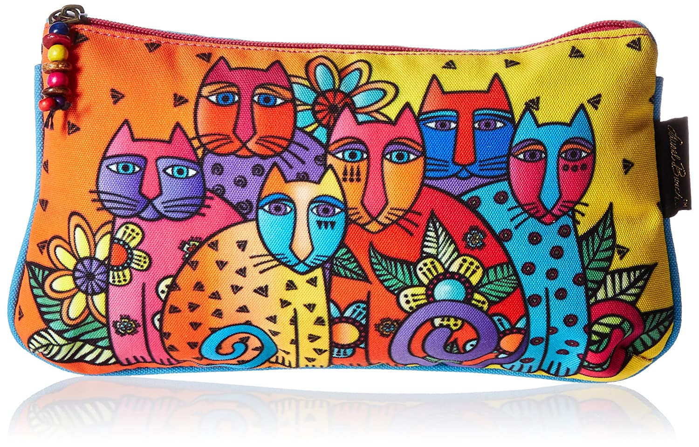 Laurel Burch Cosmetic Bag Set, Feline Clan, 3-Pack LB5338