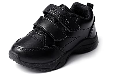 liberty Unisex School Shoes Black (Size 08C UK Age 3-3.5 Years ... 403d86b5b