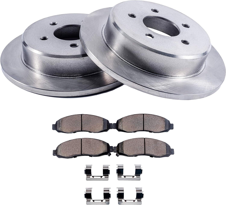 2000 Fit Dodge Caravan//Grand Caravan OE Replacement Rotors Metallic Pads F