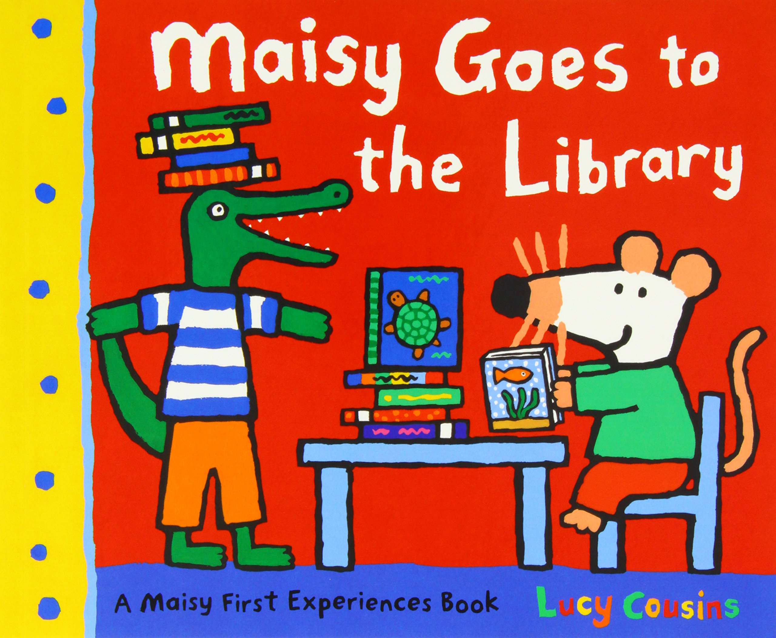 Maisy Mouse 10 books Collection: Maisy Goes to Nursery/Maisy Goes on  Holiday/Maisy Goes to Hospital/Christmas Eve/Goes to the City/Goes on a and  the Wobbly ...