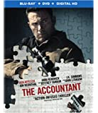 The Accountant (Blu-ray + DVD + Digital HD Ultraviolet)