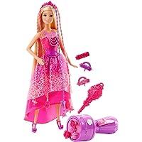 Barbie Chioma da Favola con Capelli Lunghi e Accessori, Multicolore, DKB62