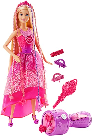 Amazoncom Barbie Endless Hair Kingdom Snap n Style Princess