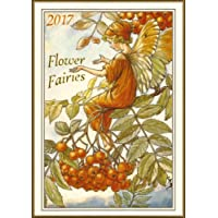 """Wall Calendar 2017 [12 pages 8""""x11""""] C M Barker Flower Fairies Vintage Fantasy Poster Ads"""
