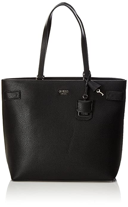 4cd98a35b Guess Mujer Cate Bolso de mano negro Size: 15.5x31x40 cm (W x H x L ...