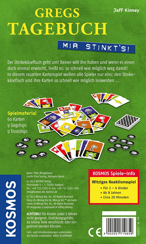 KOSMOS 710859 - Gregs Tagebuch - Mir stinkt\'s!: Amazon.co.uk: Toys ...