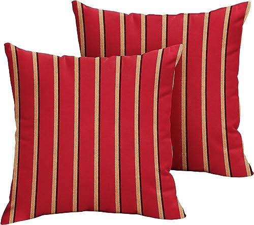 Mozaic AMPS105716 Indoor Outdoor Sunbrella Square Pillow