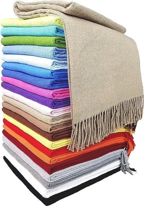 STTS International Rio - Manta (100% algodón, 130 x 170 cm), 100 ...