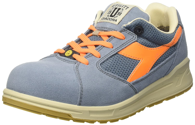 Diadora Unisex-Erwachsene D-Jump Niedrig S1p ESD (Blu Arbeitsschuhe Blau (Blu ESD Denim Sbiadito/arancio Flame) cc4b0e