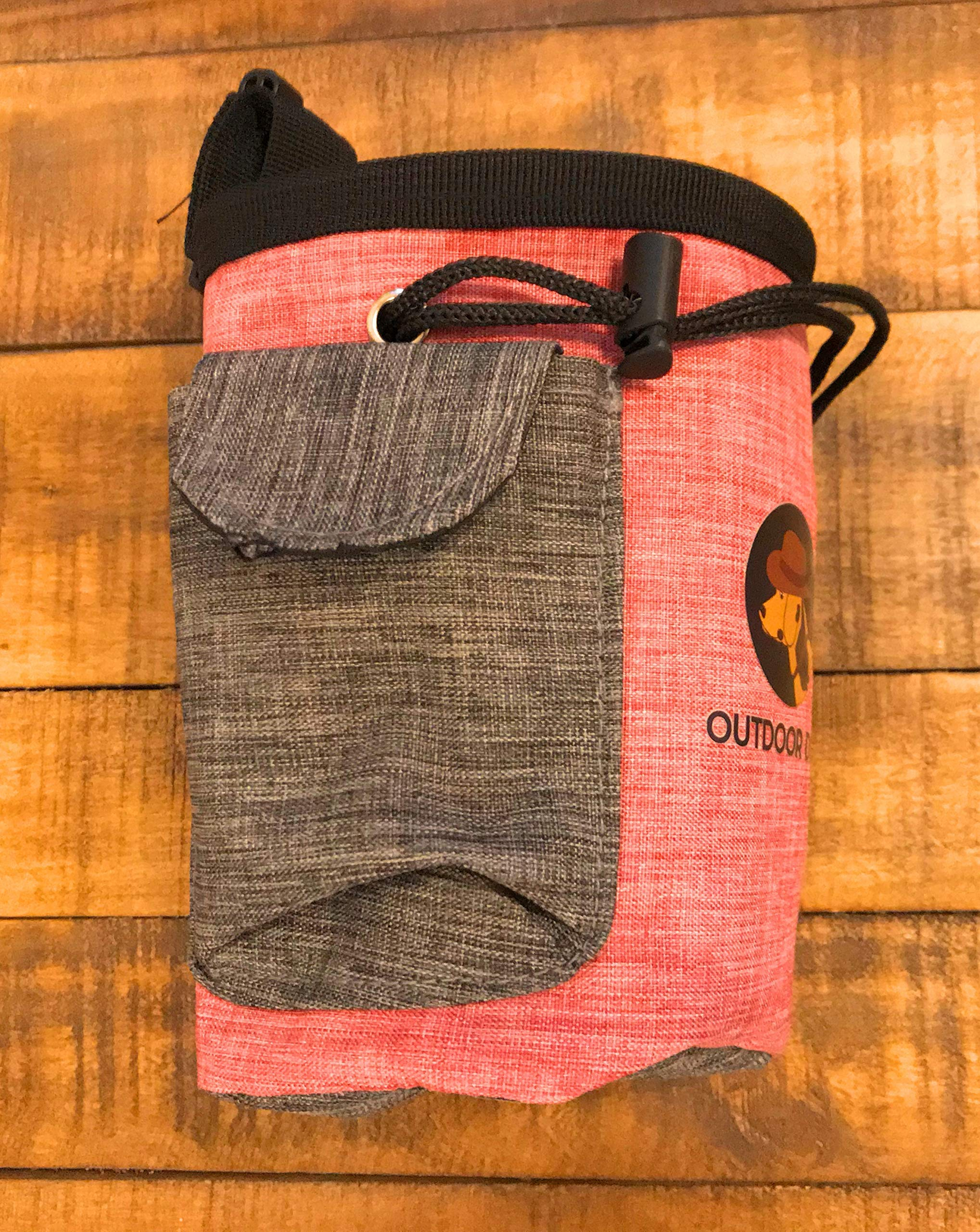 Outdoor Dog Hiking & Treat Pouch