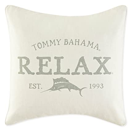 "Tommy Bahama 219310 Relax 20"" Decorative Pillow,Sage,20x20"