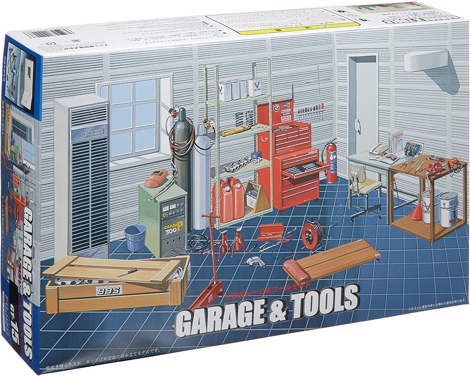 1/24 Garage & Tool Set 91PC-k02B4fL