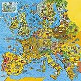Gibsons Puzzle Jigmappa Europa da 200 Pezzi