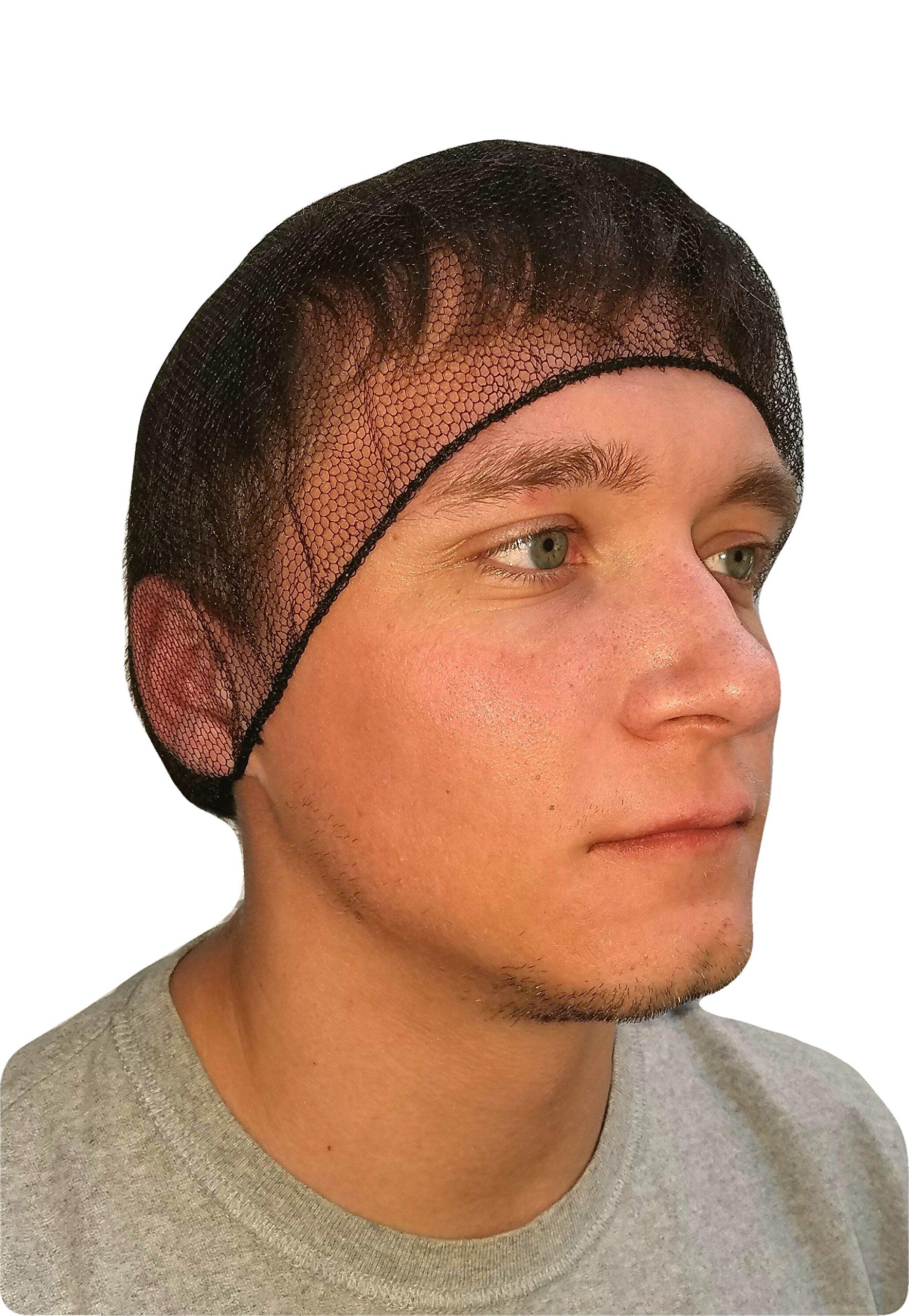 ProCES Disposable Hairnet - Black (144 Pack) by ProCES
