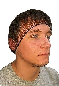 ProCES Disposable Hairnet - Black (144 Pack)
