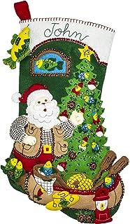 Feliz Navidad 18 Felt Christmas Stocking Kit /…