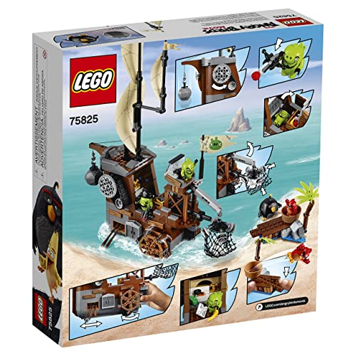 LEGO 愤怒的小鸟系列 75825 猪猪海盗船