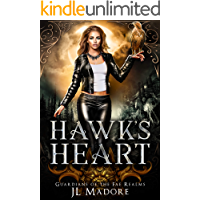 Hawk's Heart: A Reverse Harem Shifter Romance (Guardian's of the Fae Realms Book 4)
