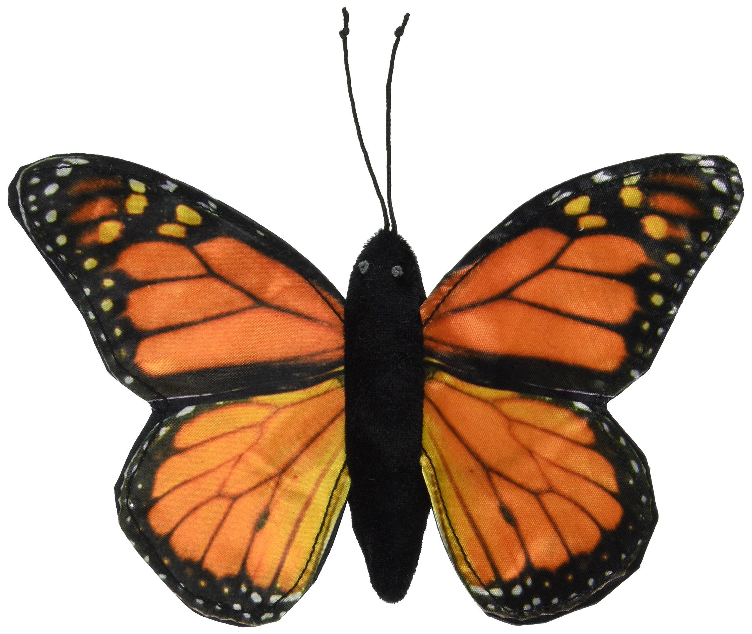 Sunny toys 8'' Finger Butterfly Monarch Finger Puppet