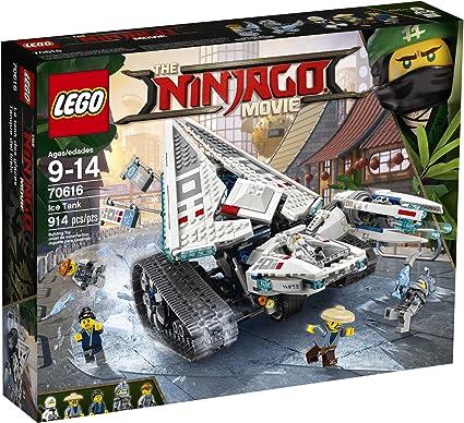 LEGO Ninjago Ice Tank Building Kit, Multicolor