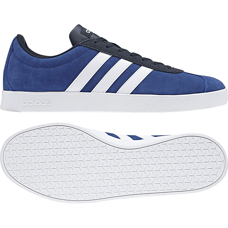 Adidas VL Court 2.0, Scarpe da Skateboard Uomo Blu (Croyal Ftwwht Conavy Croyal Ftwwht Conavy) | Consegna Immediata  | Uomini/Donna Scarpa