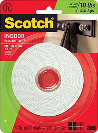 3M  Width 350 in 3//4 in Product Type Mounting Tape  Colo Brand Name Length