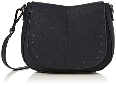 Womens Lydia Saddle Cross-Body Bag Blue (Navy) New Look may1a