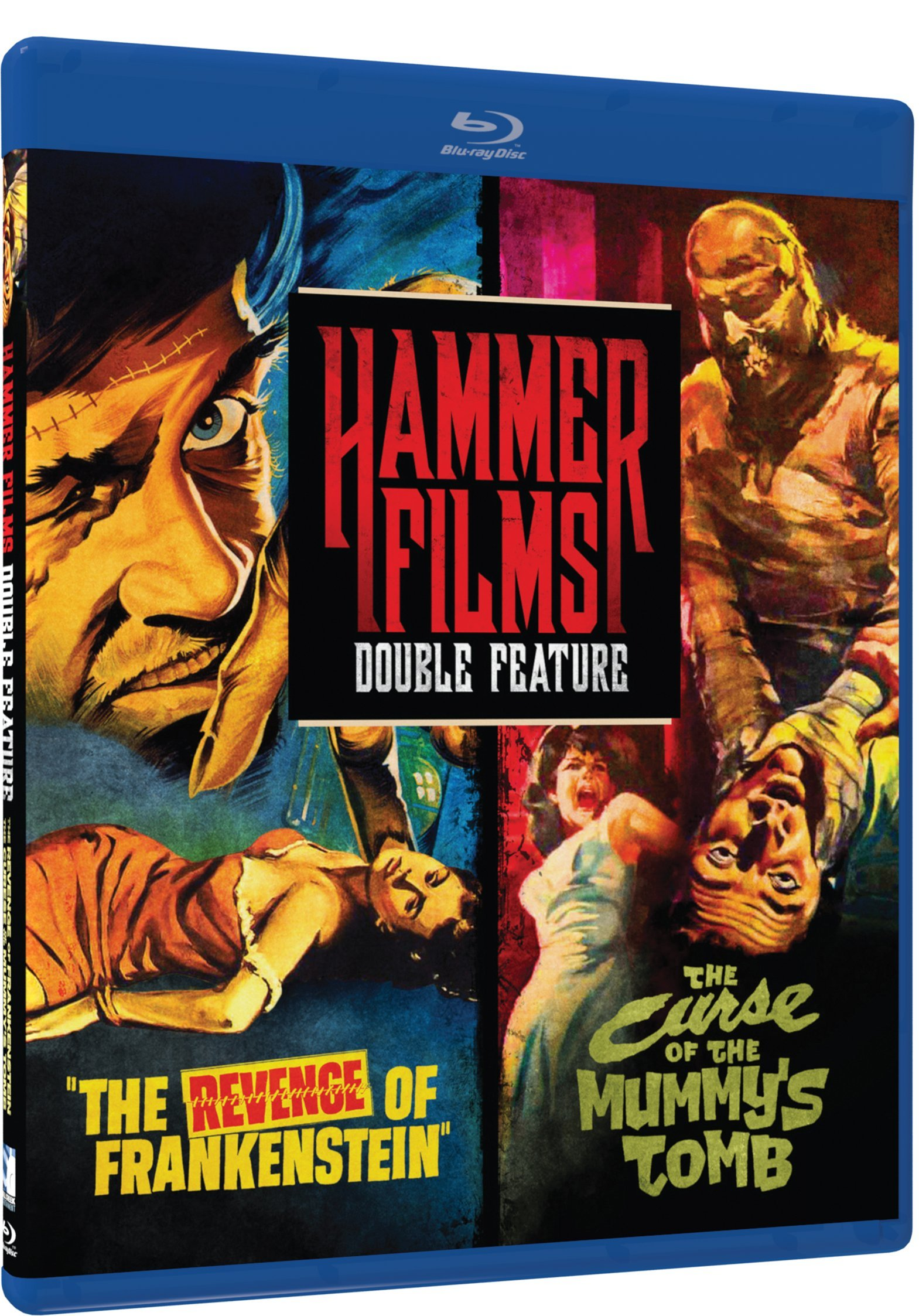 Hammer Film Double Feature: The Revenge of Frankenstein / The Curse Of The Mummy's Tomb [Blu-ray] [Import] by Mill Creek Ent