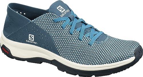 Salomon Tech Lite W, Zapatillas Impermeables para Mujer, Azul (Icy Morn/Poseidon/Navy Blazer Icy Morn/Poseidon/Navy Blazer), 41 1/3 EU: Amazon.es: Zapatos y complementos