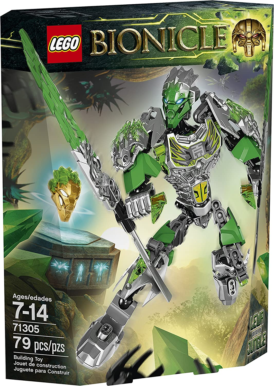 LEGO Bionicle Lewa Uniter of Jungle 71305 (Discontinued by manufacturer)