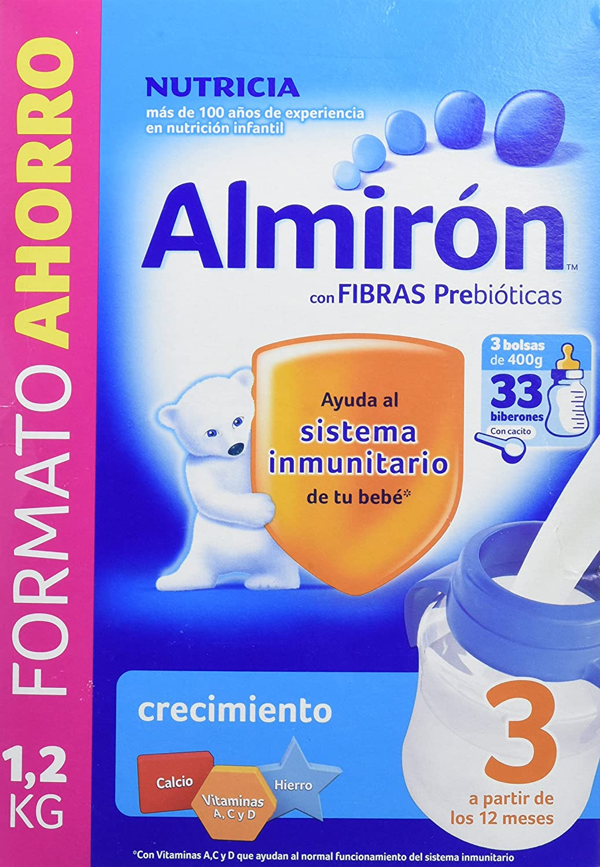 Almirón 3 Leche de crecimiento en polvo desde los 12 meses - 800 g: Amazon.es: Alimentación y bebidas